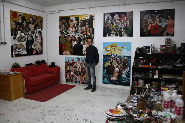 Karl Gietl France 2015 studio