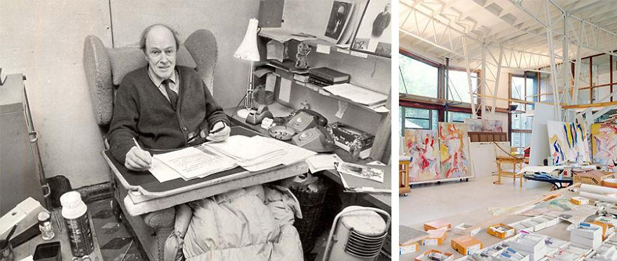 Willem de Kooning studio work chair