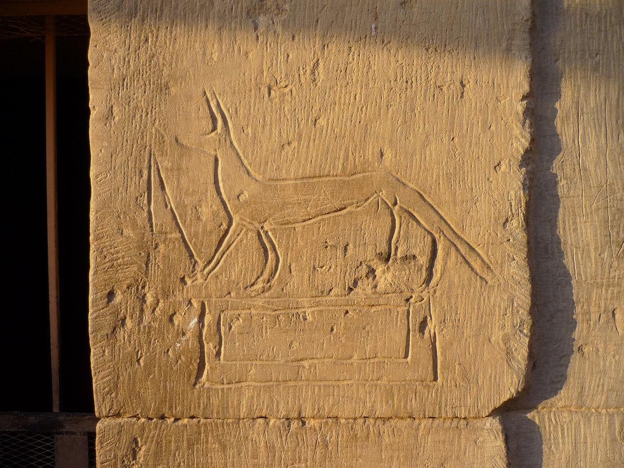 ancient graffito Kom_Ombo temple Egypt