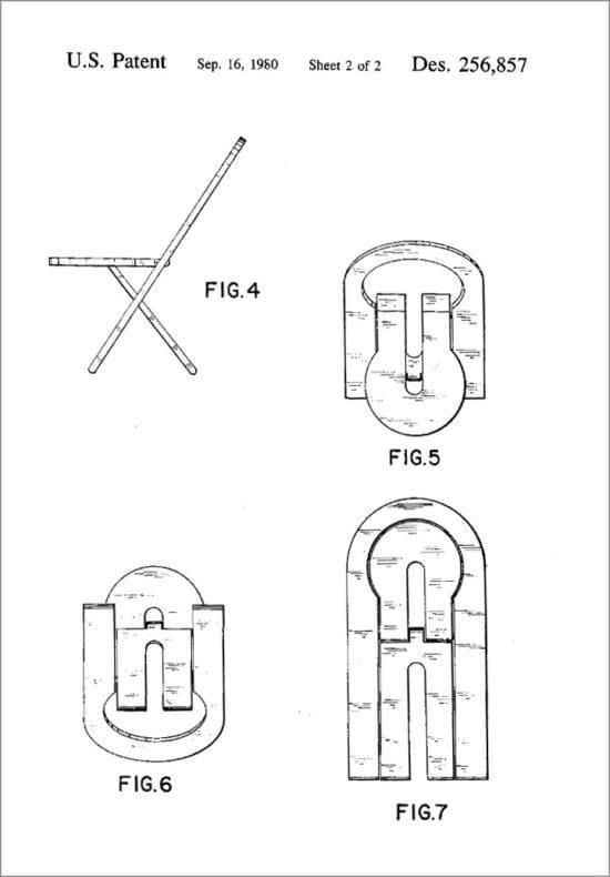 Roger Tallon chair plan 2