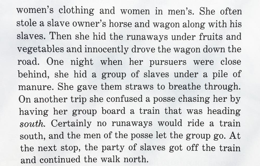 Underground Railroad excerpt