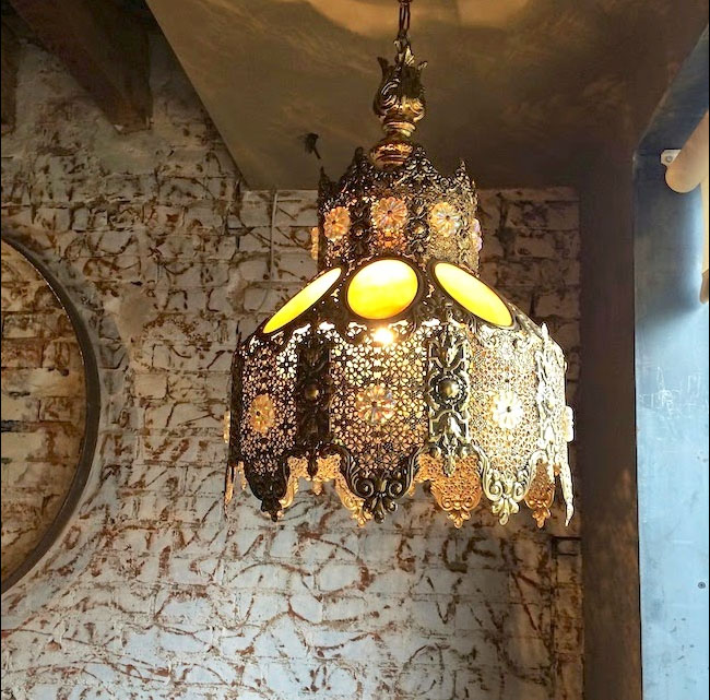 scraped brick wall chai wali harlem harlembespoke.blogspot.com