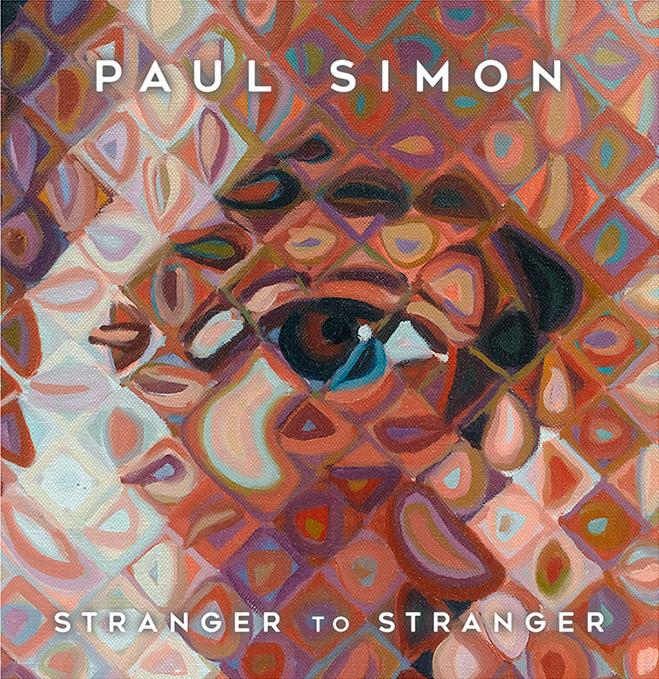 Paul Simon Stranger to Stranger cover by Chuck Close
