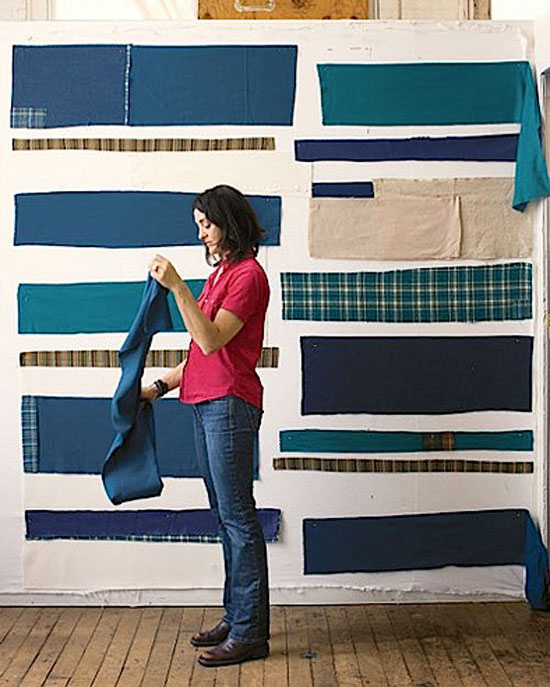 quilter-working