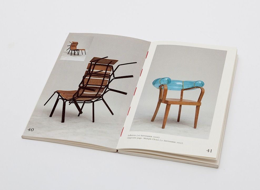 100 chairs book Martino Gamper