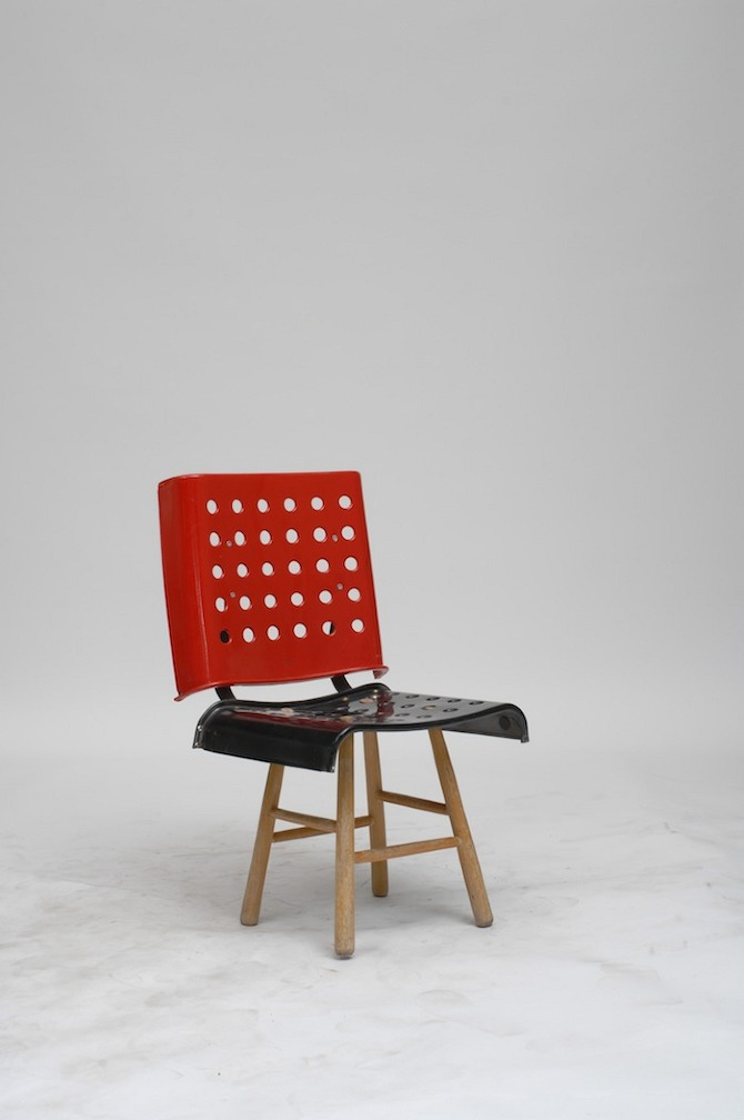 100 chairs example Martino Gamper