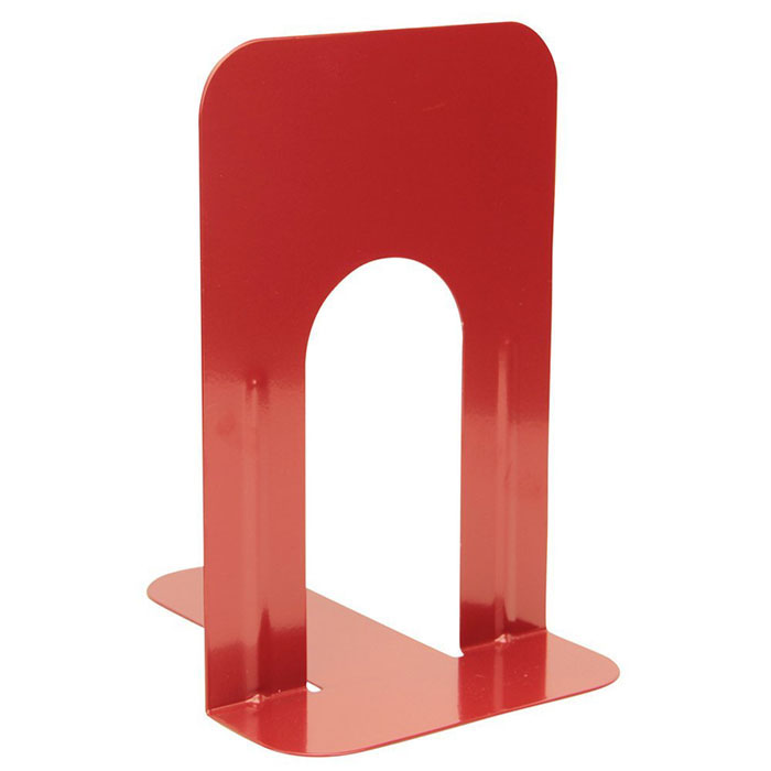 bookends red steel with arch