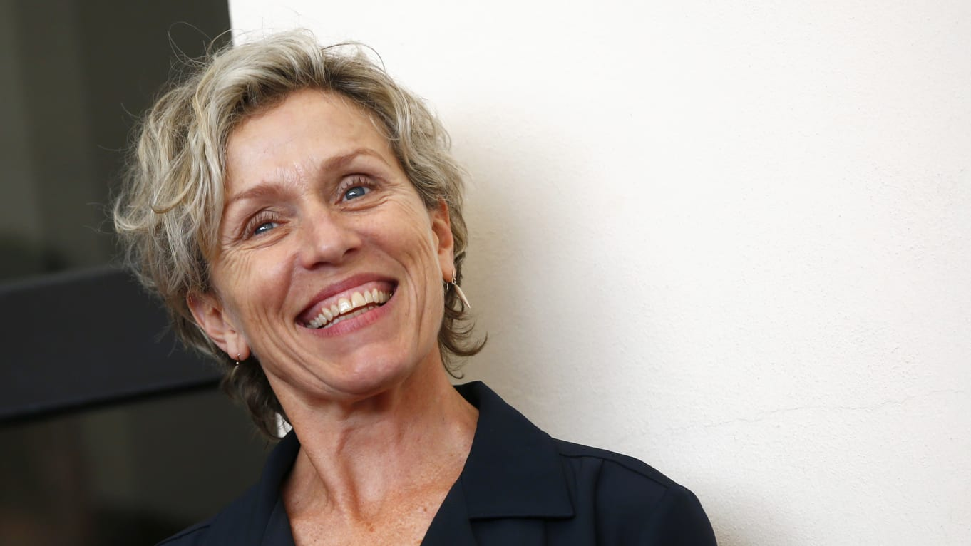 Frances McDormand On Aging, Facelifts, and the Roadmap that is our Face -  Improvised Life